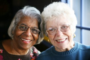 Picture of elderly ladies