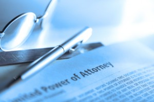 picture of power of attorney